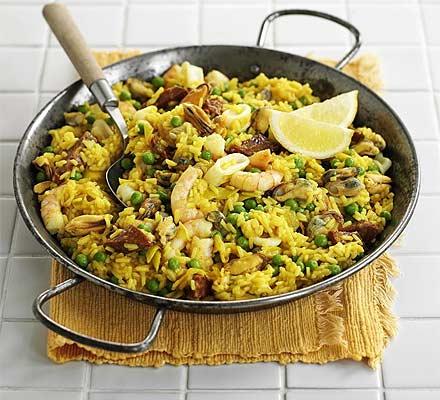 Paella ricetta originale