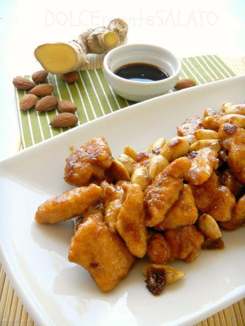 Ricetta pollo alle mandorle for Piatto tipico cinese