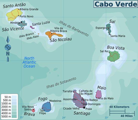 capoverde- maps