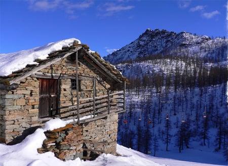 Natale e capodanno in baita for Baita di legno