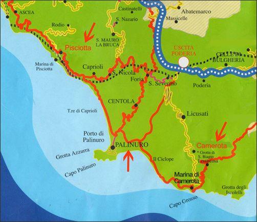 palinuro-mappa