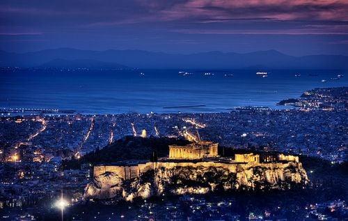 Atene vita notturna