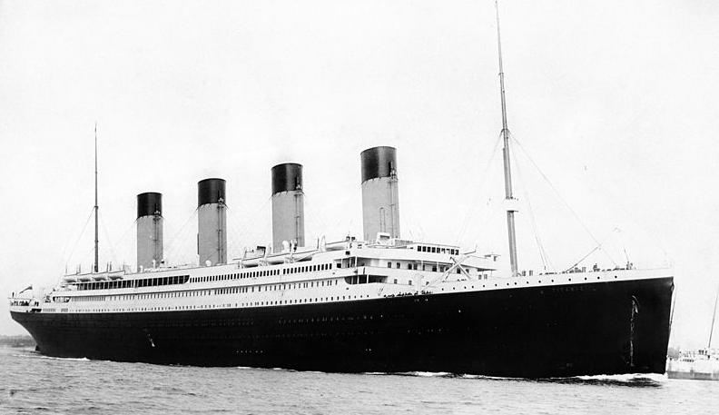 Il nuovo Titanic in costruzione