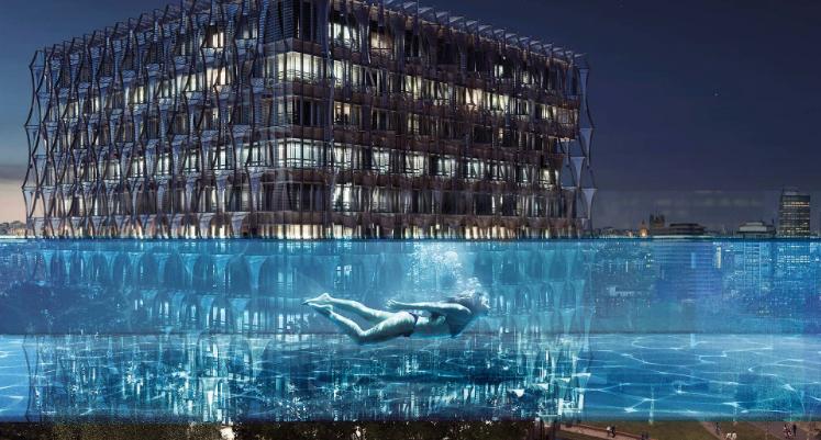 Londra: La prima Sky Pool più alta al mondo