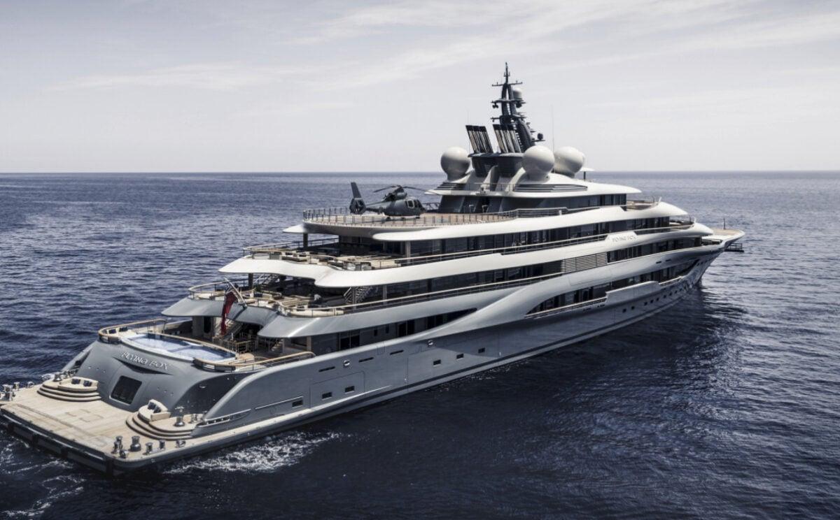Viaggi di lusso a bordo di Flying Fox, il superyacht charter più grande del mondo proprietà di Jeff Bezos